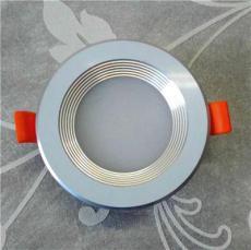 三點灣燈配城暗裝圓形超薄筒燈配件套件外殼