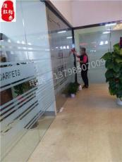 深圳南山玻璃貼膜磨砂裝飾膜防撞條LOGO腰條