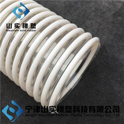 路面抛丸机专用软管 塑筋螺旋增强软管
