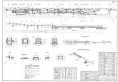 DSJ65-15-2X22可伸缩皮带输送机图纸