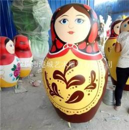 商场节日装饰DIY玻璃钢彩蛋雕塑