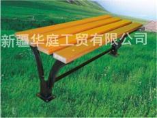 新疆休闲椅石河子户外休闲椅经久耐用精河绿化公园椅