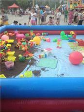 兒童充氣海洋球池沙池組合品牌