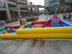 小型儿童决明子充气沙池玩具套装游乐设备