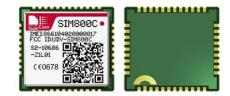 SIM800C 四频GSM/GPRS模块 SIMCOM模块