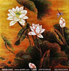 湖南磨漆画 秋风十里 不如画中有景