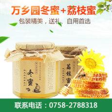 万乡园冬蜜和荔枝蜜介绍 广东蜂蜜产品