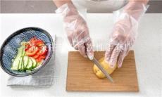 餐饮行业使用的一次性薄膜手套