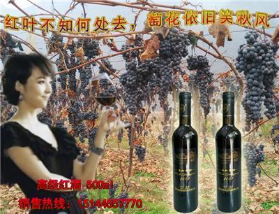 集安美的庄园2003冰葡萄酒 美的庄园北冰红