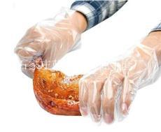 不渗透防油污一次性PE卫生手套