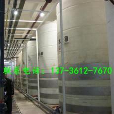 麗水3噸PE塑料水塔水處理儲槽應用
