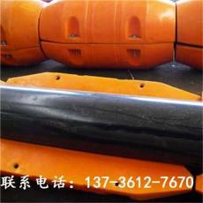 橙色圆柱体管道浮筒 清淤泥管线浮漂规格