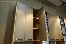 上海翰诺威定制家具 爱格板折叠门衣柜