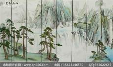 福建大型漆壁画厂家 一片山水 一篇生活
