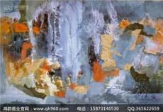 福建大型漆壁画定制厂家 抽象的朦胧之美