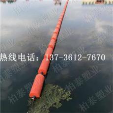 提供漂浮式攔污排 聚乙烯浮漂圖片