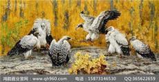 广东大型漆壁画定制厂家 灵动有趣的动物世