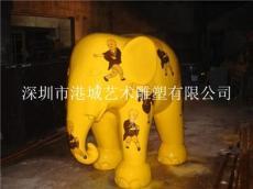 珠海招财小象雕塑摆件