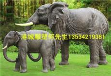 欧式吉祥之意大象雕塑