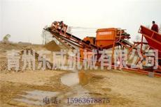 洗沙机/DW滚筒筛分水洗矿砂设备价格/图片