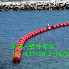 水电站库区拦污装置组合式塑料浮筒