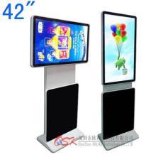 欧视卡42寸落地旋转屏广告机安卓八核触屏可选