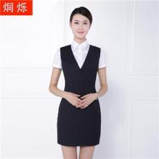 2017湖南烔爍百搭條紋連衣裙職業V領連衣裙