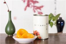 周小花黄桃罐头 新鲜优质黄桃 425g/罐