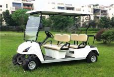 高配置优选四座高尔夫蓄电池球场车