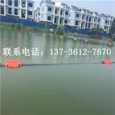 湖面垃圾隔離浮筒 河道攔污浮體工程