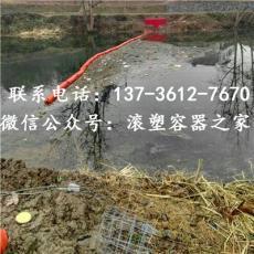多规格水上拦污排多用途塑料浮筒