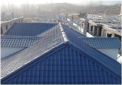 厂房屋顶工程用瓦 保温隔热ASA合成树脂瓦