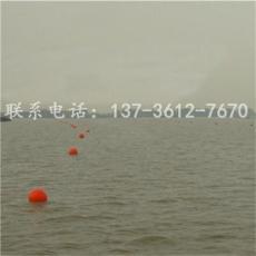旅游区橙色警示浮子聚乙烯浮球加工