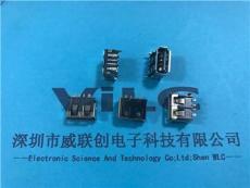 USB短体10.0 DIP 前两脚 针贴片 大电流3A5a