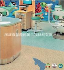 同质透心塑胶地板 同透PP系列 商用卷材
