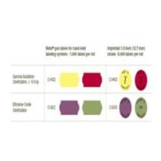 Mesalabs 射線和環氧乙烷滅菌指示標簽