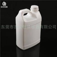 2L塑料扁罐 2kg化工包裝桶