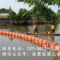高分子移动式拦污排塑料浮筒生产厂家