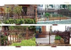 亚坤铝艺别墅庭院大门护栏