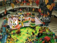 EPP儿童游乐园 商场室内中庭积木乐园