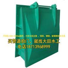 管道拍门眉山HDPE复合材料拍门生产厂家