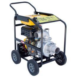 柴油4寸移動消防應急泵