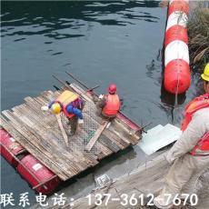 洞口湖面攔截浮漂垃圾處理能手