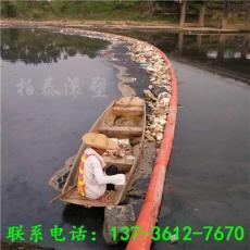 石门河道漂浮物拦截浮子塑料浮排
