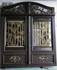 厂家直供欧式铝合金庭院门铝艺围墙大门
