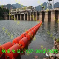 水面挂网拦污浮筒方案柏泰定制