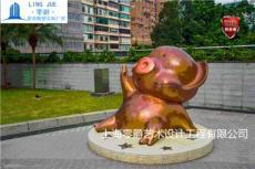 济南猪猪侠雕塑-猪八戒石雕定制