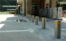 青島景區用的防撞不銹鋼升降柱