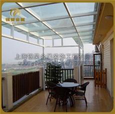 供應大型玻璃雨棚陽光房不銹鋼雨棚大型鋼結