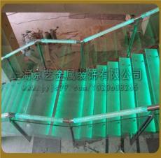 京藝廠家直銷異型箱體梁結構玻璃樓梯提供圖